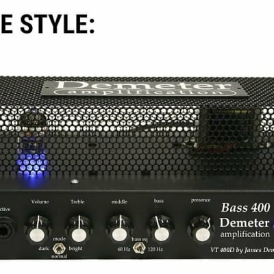 Demeter Bass 400D in METAL CAGE Casing for sale