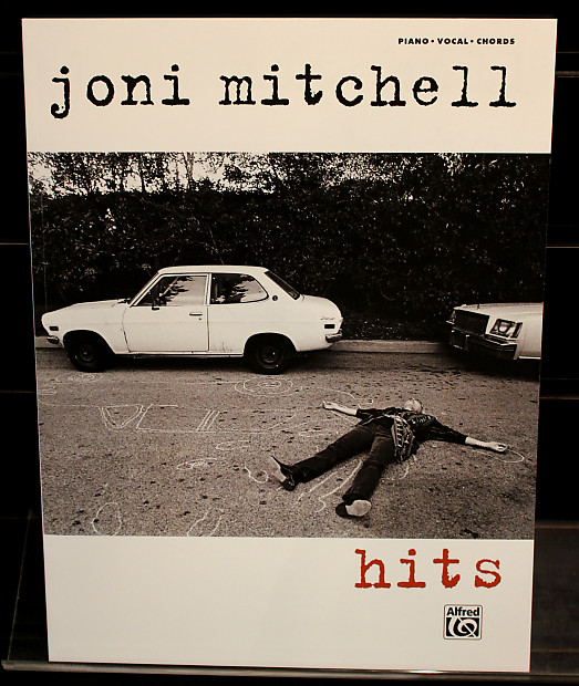 Joni Mitchell Hits Pianovocalchords Guitar Songbook Reverb