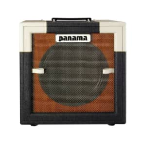 Panama Guitars Conqueror 5 Watt Tube Combo Guitar Amp Black/White for sale