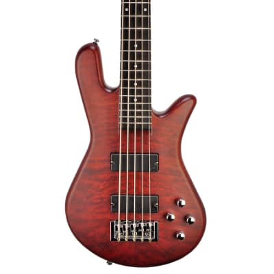 Spector Legend 5 Neck-Thru Bass - Walnut Stain – 10.5 pounds - W180083 - Free Spector Gig Bag! for sale