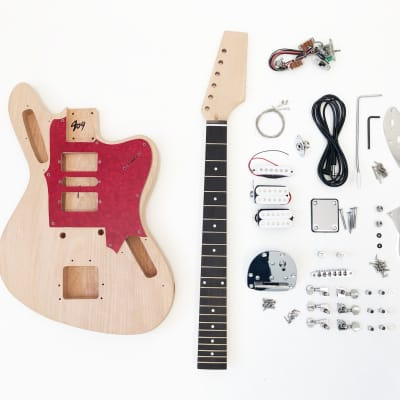 DIY Electric Guitar Kit – Offset HSH Build Your Own Guitar Kit