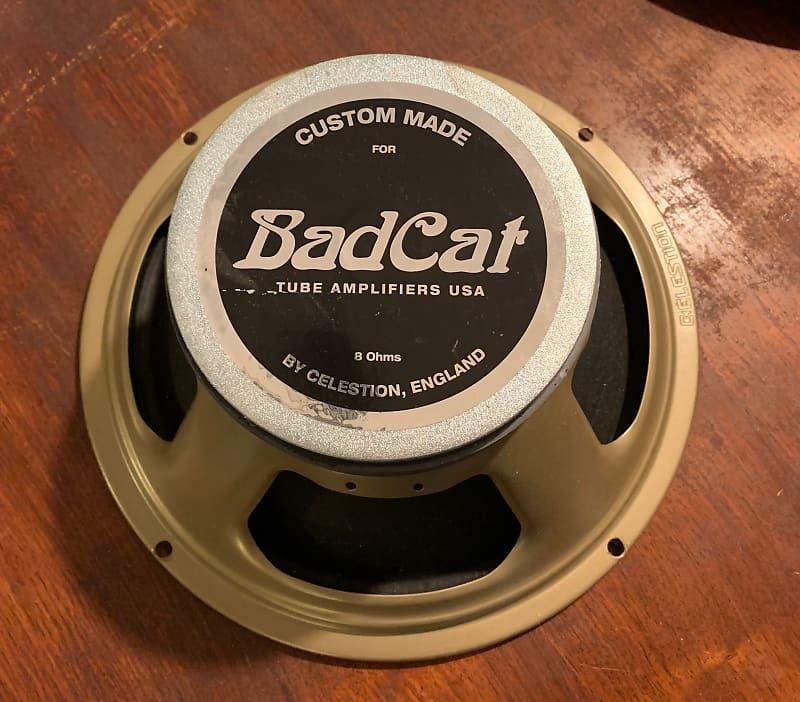 bad cat celestion speaker 12 8ohm blue tin music reverb. Black Bedroom Furniture Sets. Home Design Ideas