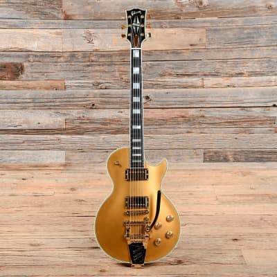 Gibson Les Paul Fort Knox with Bigsby Limited Run Bullion Gold 2016