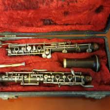 Buffet Crampon Evette & Schaeffer Wood Oboe  1930-1960