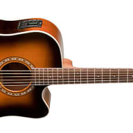 <p>Washburn WD7SCEATB Electric Acoustic Guitar Tobacco Burst Solid Sitka Spruce</p>  for sale