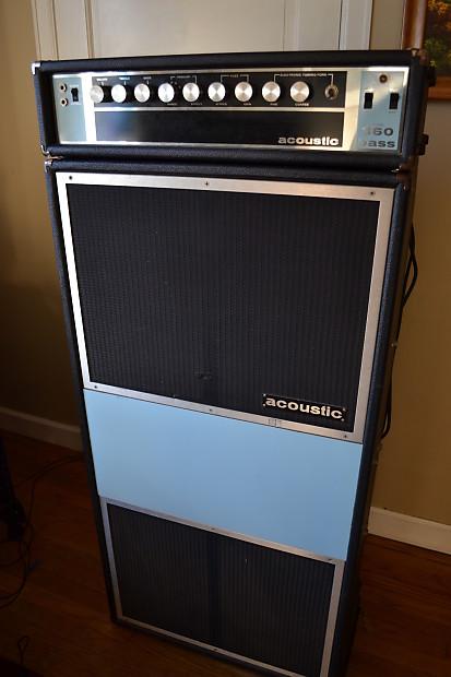 vintage late 1960 39 s acoustic bass 360 361 bass guitar amp reverb. Black Bedroom Furniture Sets. Home Design Ideas