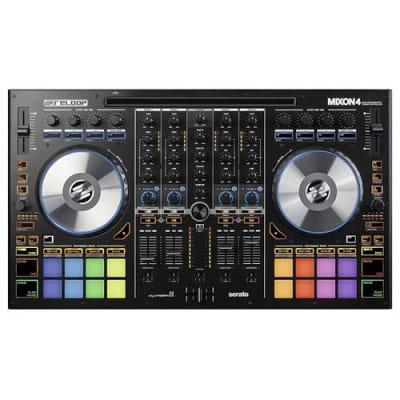 Reloop Mixon 4 4 Channel High Performance Hybrid DJ Controller for SeratoDJ and Algoriddim Djay Pro