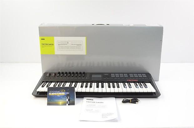 Korg Triton Taktile USB 49 Key Controller/Synthesizer In Box