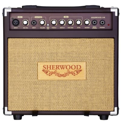 Carlsbro Sherwood 20R Acoustic Guitar Combo Amplifier 20W with Reverb for sale