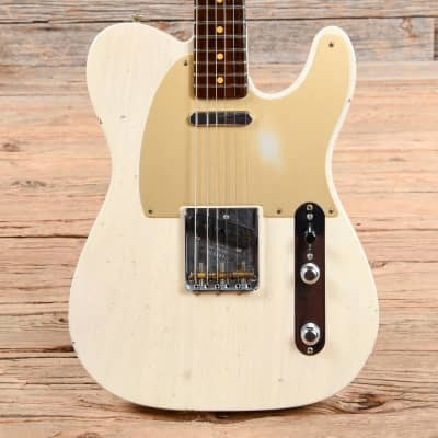 Fender Fender Custom Shop Limited 50's Telecaster Journeyman Relic w/Rosewood Neck Aged White Blonde 2016 for sale