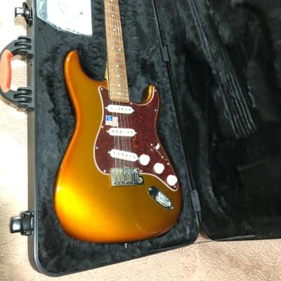 Fender American Deluxe Stratocaster 2013 Iron Burst for sale