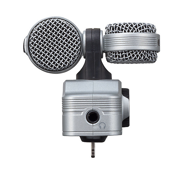 Zoom Iq7 Ms Stereo Microphone For Ios Ipad Iphone Reverb