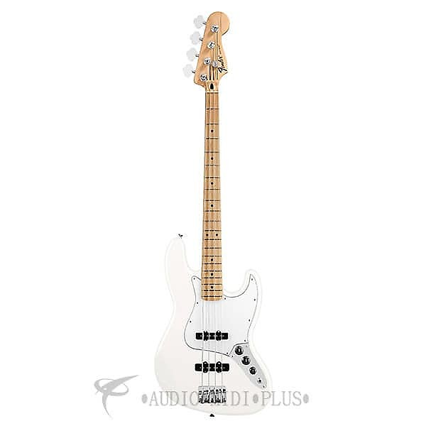 fender standard jazz maple fingerboard 4 strings electric