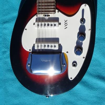VOX Mando Guitar 1965 Sunburst 12 Strings Mandolin for sale