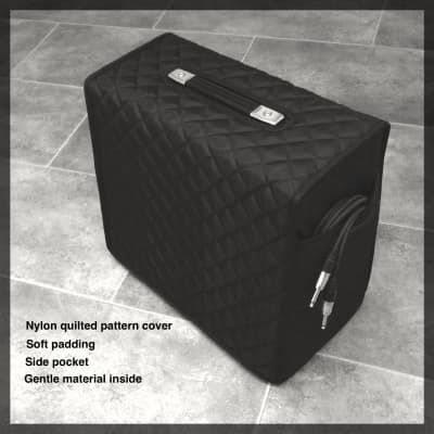 Nylon quilted pattern Cover for VOX AC15 H1TV combo amplifier .