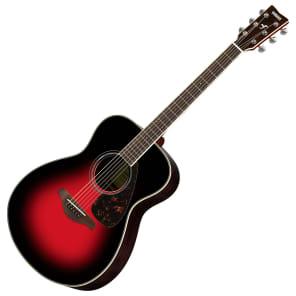 Yamaha FS830-DSR Small-Body Acoustic Guitar Dusk Sun Red