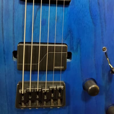 Solar A2.6 Baritone 2018 Trans Blue Matte with Fishmans for sale