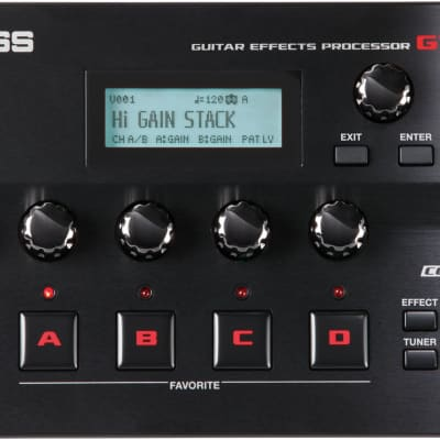 Boss GT001 Table Top Guitar Effects Processor for sale