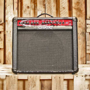 """Crate FXT65 2-Channel 65-Watt 1x12"""" Solid State Guitar Combo with DSP Effects"""