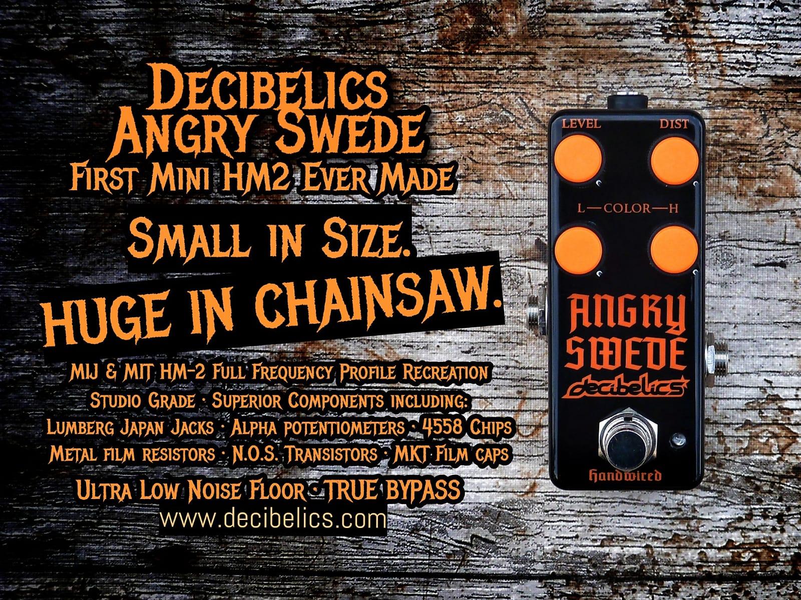 Decibelics Angry Swede | The Mini HM2 clone