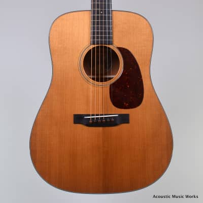 Collings D1A Traditional, Torrefied Adirondack Spruce, Mahogany