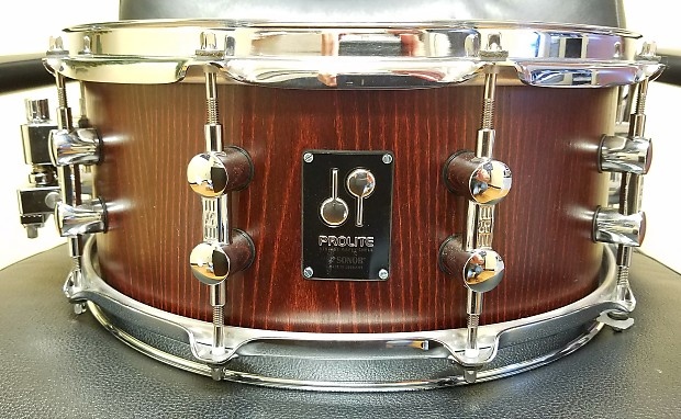 Sonor Prolite Maple Snare 14 X6 Nussbaum Satin Reverb