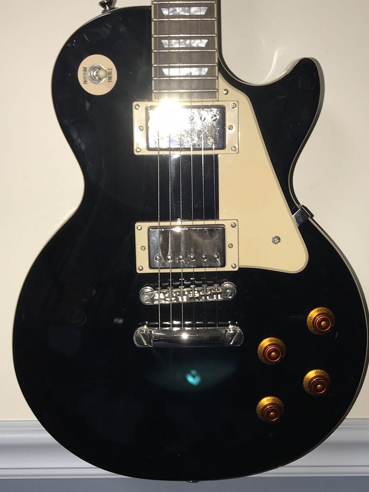Epiphone Les Paul Standard \u2013 Used Electric Guitar \u2013 Ebony ...