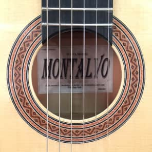 Casa Montalvo Fleta Model Flamenco Guitar 2008 for sale