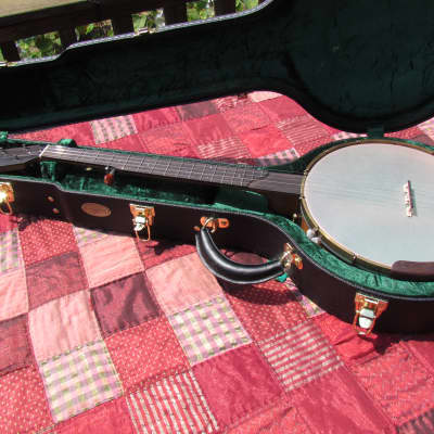 "OME Tupelo Banjo 12"" Head, maple rim, with Armrest.  Very woody sound! for sale"