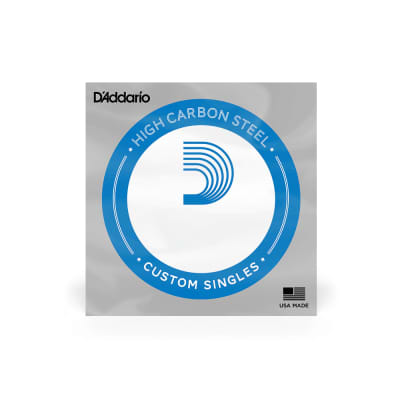 D'Addario PL013 5 pack Single plain steel string for acoustic or electric instruments