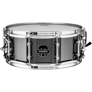 """Mapex ARST4551CEB Armory Tomahawk 14x5.5"""" Steel Snare Drum"""