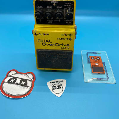 Boss SD-2 Dual Overdrive | Rare 1994 | Fast Shipping!