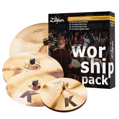 Zildjian K Custom Worship Music Cymbal Box Set (MINT, DEMO)