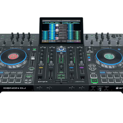 Denon DJ 4-Deck Standalone System with 10-inch Touchscreen