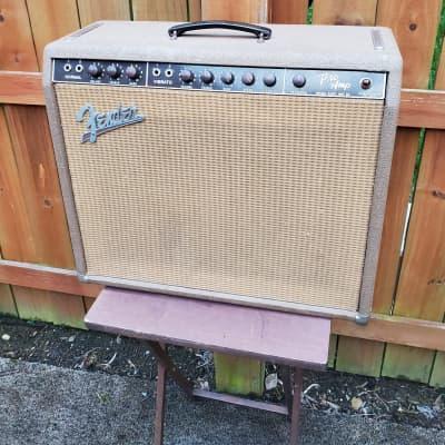 1962 Fender Pro Amp Brown Tolex Great Sound Clean Shape Super Cool Tone ToThe Bone