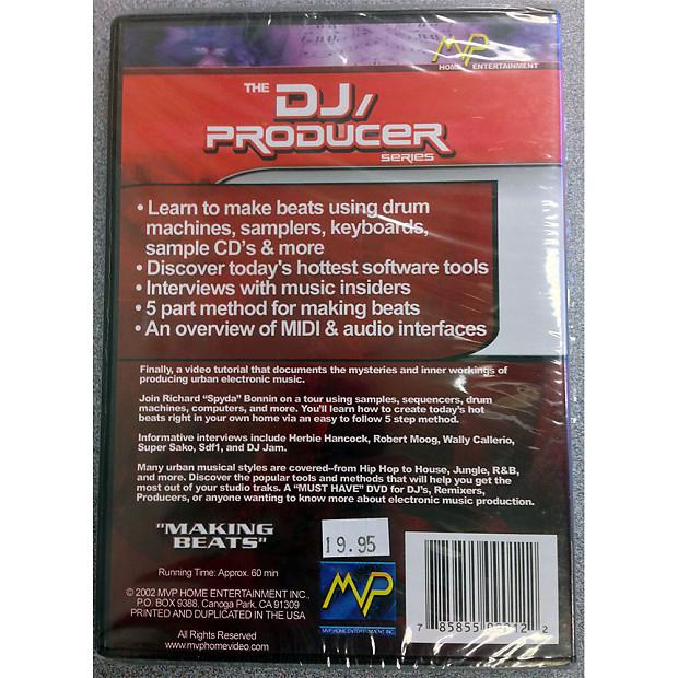 MVP Home Entertainment DJ/Producer Series Making Beats DVD 2002