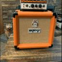 Orange Micro Terror 20 watt tube head with matching cabinet & carrying case