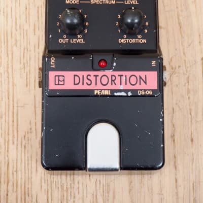 1980s Pearl DS-06 Distortion Vintage Guitar Effects Pedal Japan for sale
