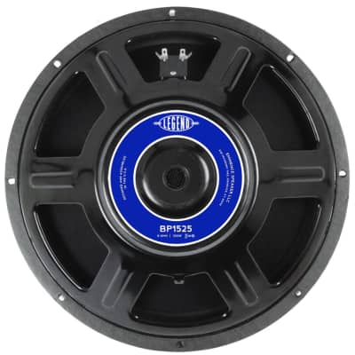 Eminence Legend BP1525 Bass Speaker (15 Inch, 500 Watts, 8 Ohms)