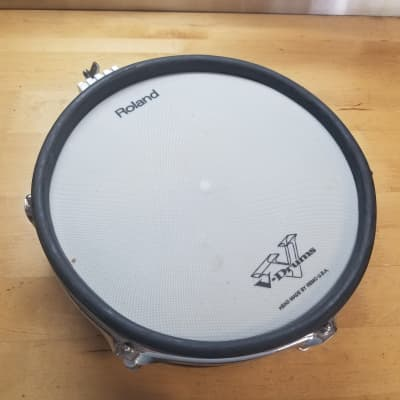 Roland PD-100 Single Trigger Mesh Head V-Drum Pad White - AL05584 - Free Shipping!