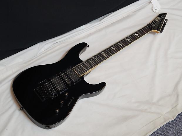 esp ltd m 251 m251 electric guitar black emg pickups reverb. Black Bedroom Furniture Sets. Home Design Ideas