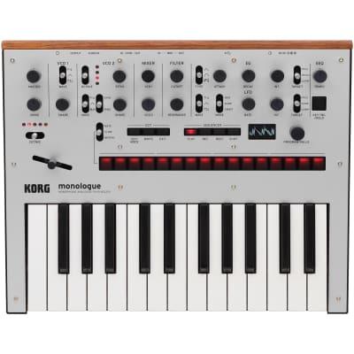 Korg Monologue Analog Synthesizer - Silver