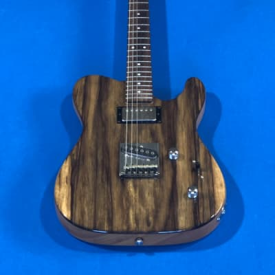 G&L ASAT CLASSIC BLUESBOY CUSTOM BUILD 2015 Black Limba top/Swamp Ash body Natural Gloss for sale