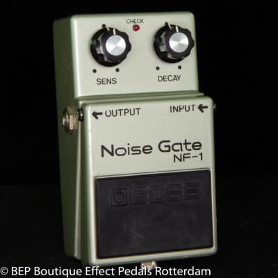 Boss NF-1 Noise Gate 1979 Silver Screw, Long Dash, Clear Switch Japan