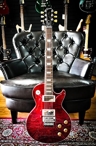 Gibson Custom Alex Lifeson Les Paul Axcess Electric Guitar Reverb