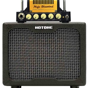 Hot One Mojo Diamond Mini Amp and Nano Legacy Cabinet with Free Speaker Cable for sale