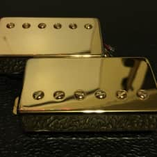 G&B Pickup Set  Humbucker Gold