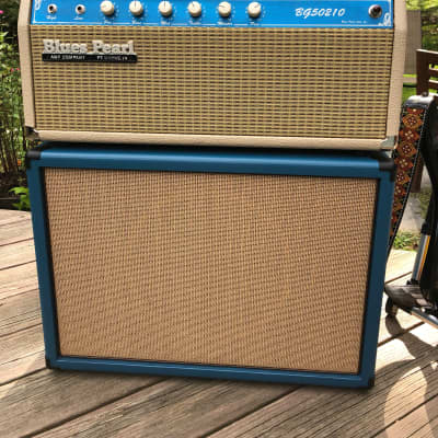 Boutique Tube Amp. Blues Pearl. Head and Cabinet. for sale