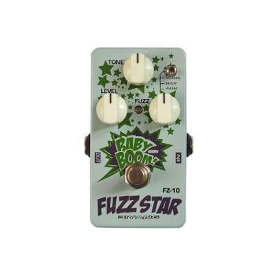 NEW BIYANG FZ-10 Fuzz Star Pedal for sale