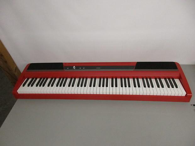 korg sp 170s digital piano red reverb. Black Bedroom Furniture Sets. Home Design Ideas